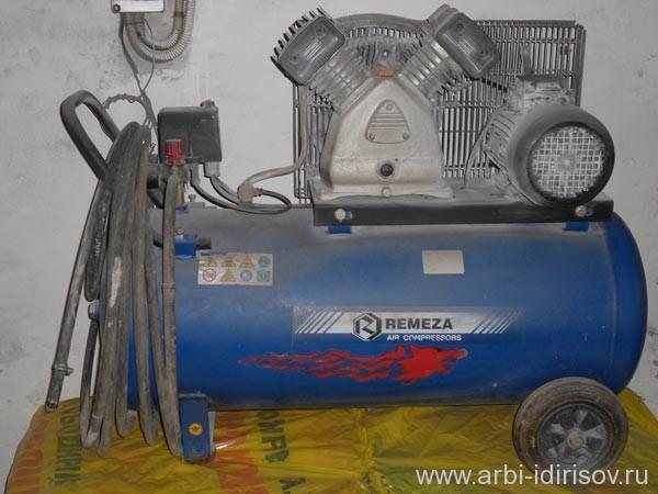 компрессор воздушный Remeza двух фазный