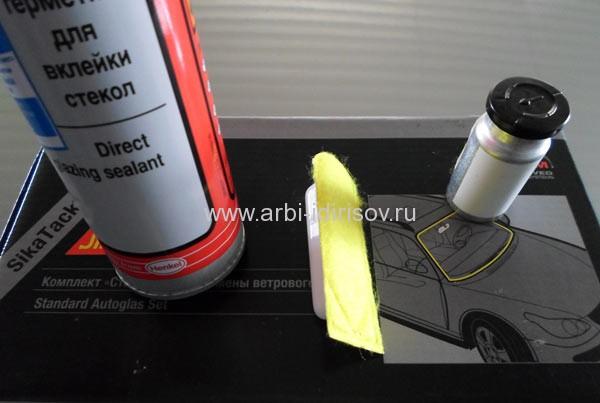 комплект клея-герметика для замены автостекл ваз лада 2110