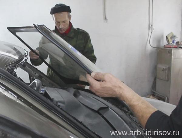 Замена лобового стекла ВАЗ 2110 своими руками - ВАЗ Ремонт 15