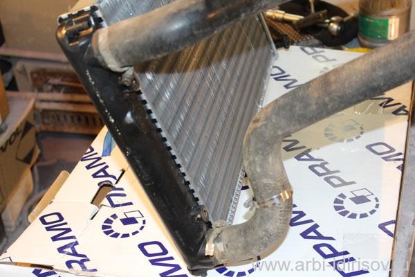 Замена патрубков радиатора