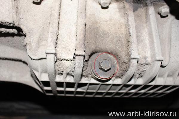 Сливная пробка картера, поддона форд фокус 2 2005 года