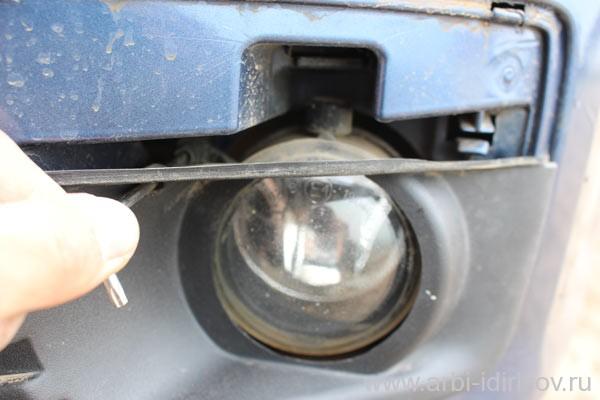 Как на форде установить противотуманки самому