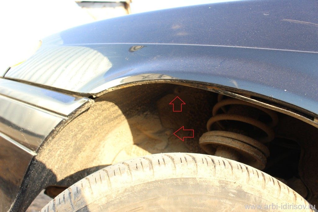 IMG 44711 1024x682 - Переднее крыло ваз 2114: снятие и установка