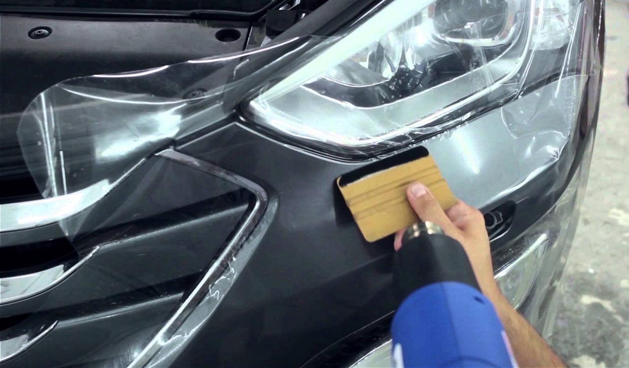 Бронирование стекла защитной пленкой своими руками