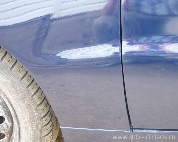 Кузовной ремонт Lanos без замены деталей