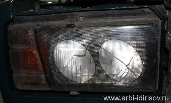 Замена передней фары на ВАЗ 2107
