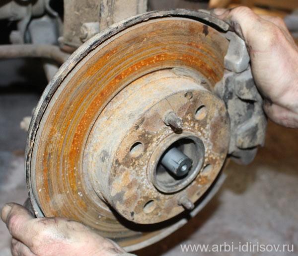 Замена правой наружной гранаты на ВАЗ Лада 2114-2115-2109