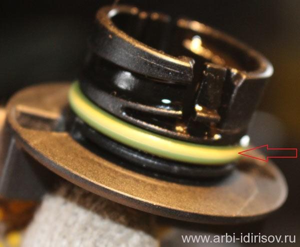 Пробка клапанной крышки с уплотнительным кольцом форд фокус