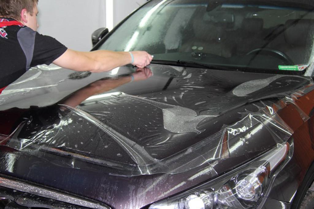 полиуретановая пленка на авто