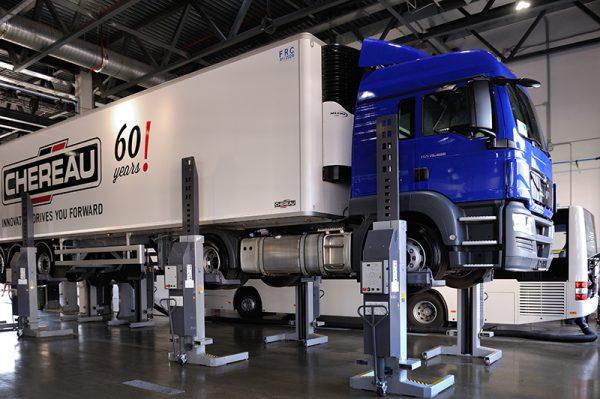 Ремонт грузовых автомобилей и прицепов к ним в Екатеринбурге